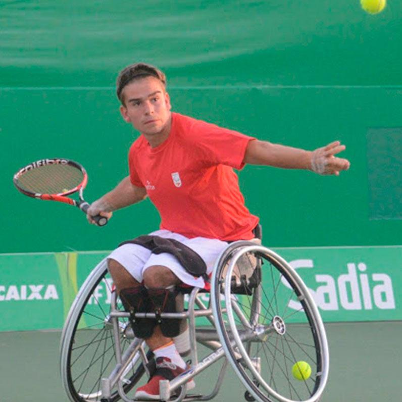Martín de la Puente recupera el título de Campeón de España de Tenis en Silla