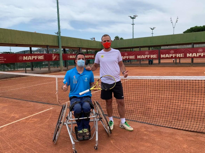 Arranco la Liga Mapfre de tenis en silla en Barcelona
