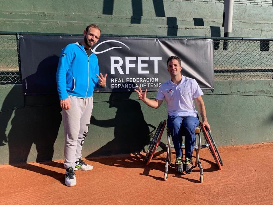 """Tercer puesto en XXIII Máster Nacional de Tenis en Silla de Ruedas """"Trofeo in-best-ers"""""""