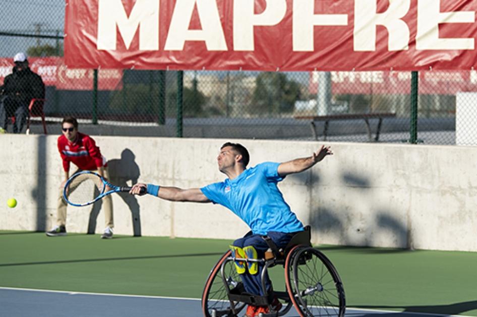 l Campeonato de España MAPFRE de Tenis en Silla se decide también esta semana en Manacor