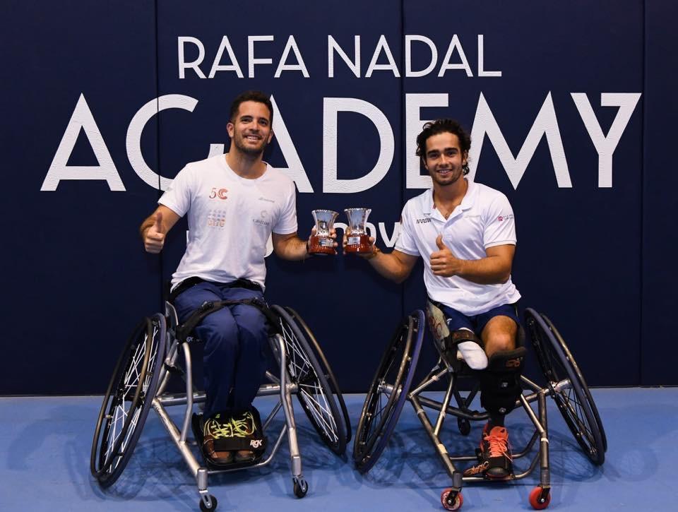 Campeón de España de dobles por tercer año consecutivo
