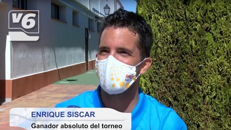 Reportaje de Vision6 TV sobre el Open de Albacete