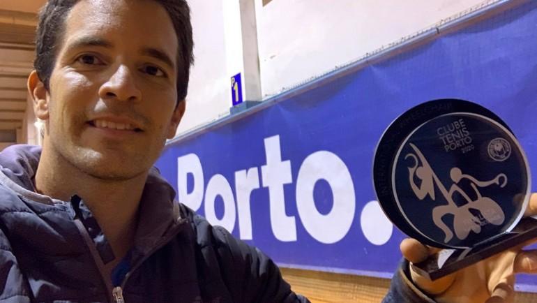 Finalista de dobles en ITF Oporto