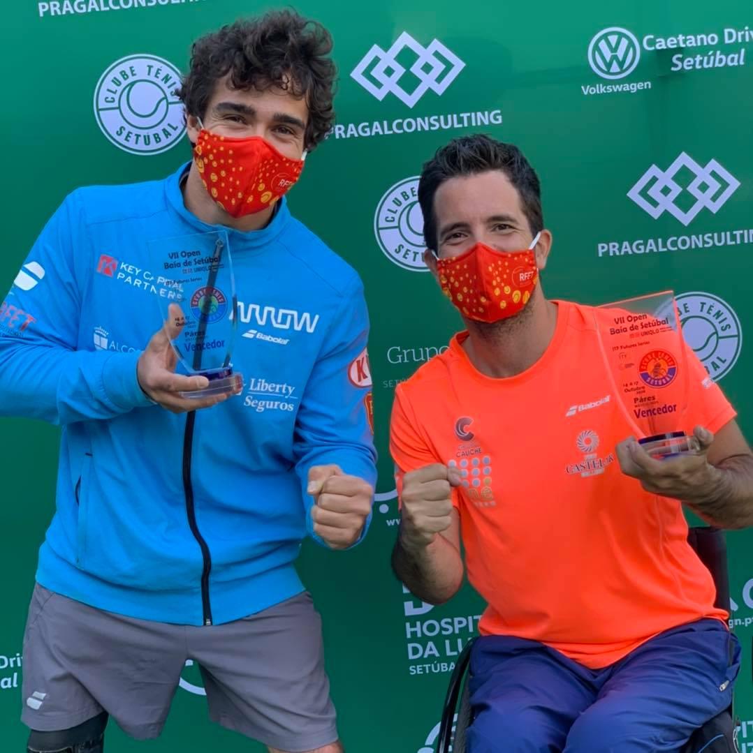 Campeón de Dobles en ITF Setúbal