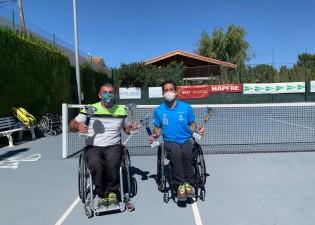 Campeon dobles Open de Albacete Murcia Lion Team